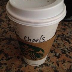 Photo taken at Starbucks by John Charles on 1/12/2014