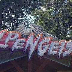 Photo taken at Alpengeist - Busch Gardens by Sean W. on 8/22/2013
