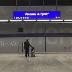 Photo taken at S Flughafen Wien / Vienna Airport by Robert R. on 10/6/2015