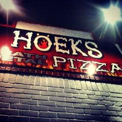 Photo taken at Hoek's Death Metal Pizza by Derek G. on 3/10/2013