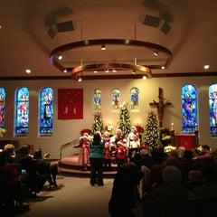 Photo taken at St.Louis Catholic Church by Mimi C. on 12/24/2012