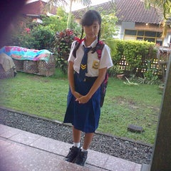 Photo taken at SMPN 2 Denpasar by Gek A. on 7/28/2013