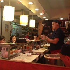Photo taken at Yuka Japanese Restaurant by Britta W. on 7/27/2013