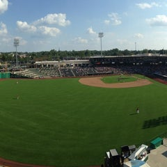 Photo taken at Parkview Field by Andrew L. on 8/11/2013
