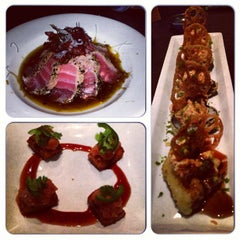 Photo taken at RA Sushi Bar Restaurant by Robin H. on 2/4/2013