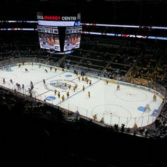 Photo taken at CONSOL Energy Center by Scotty M. on 4/12/2013