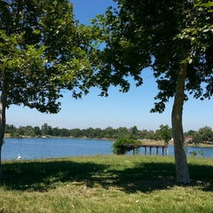 Photo taken at Lake Balboa Park by Marjorie M. on 6/15/2013