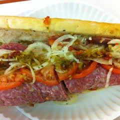 Photo taken at White House Sub Shop by Cheryl N. on 10/22/2012
