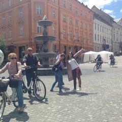 Photo taken at Ljubljana by Pavlina R. on 6/21/2015