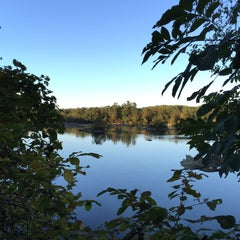 Photo taken at Susquehanna State Park by Ginger G. on 10/10/2015
