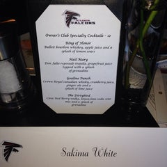 Photo taken at Atlanta Falcons Owners Club by Sakima W. on 11/10/2013