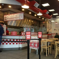 Photo taken at Five Guys by Rick W. on 2/16/2013