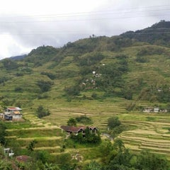 Photo taken at Banaue Rice Terraces Viewpoint by John D. on 9/16/2015