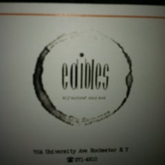 Photo taken at Edibles Restaurant by Marc B. on 11/25/2012