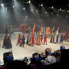 Photo taken at Medieval Times Dinner & Tournament by Renata L. on 12/28/2012
