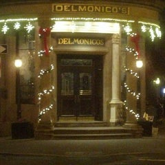 Photo taken at Delmonico's Restaurant Steak House Grill by Anthony C. on 12/18/2012