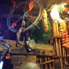 Photo taken at Bahooka Ribs & Grog by Eric L. on 2/26/2013
