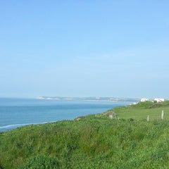 Photo taken at Cap Gris Nez by Barnaby C. on 5/31/2013