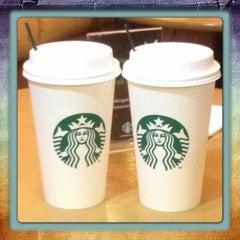 Photo taken at Starbucks by Ling L. on 1/13/2013