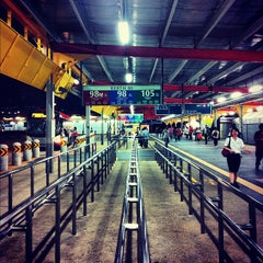 Photo taken at Jurong East Temporary Bus Interchange by Monthon S. on 10/28/2012