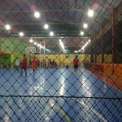Photo taken at Zona Futsal Pulau Situ Gintung by Aditya P. on 2/8/2013