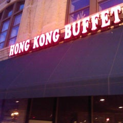 Photo taken at Hong Kong Buffet by John O. on 10/9/2012