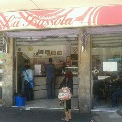 Photo taken at La Bussola café by Arturo R. on 6/19/2013