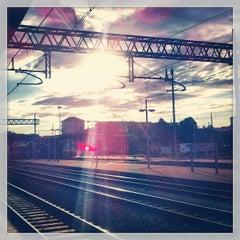 Photo taken at Stazione Asti by Matteo R. on 9/11/2013