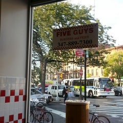 Photo taken at Five Guys by Tyrone-Shawn C. on 10/10/2012