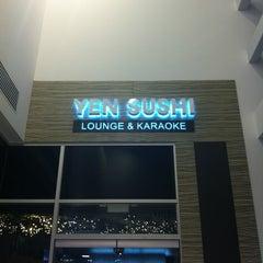 Photo taken at Yen Sushi Karaoke & Lounge by Neth S. on 1/10/2013