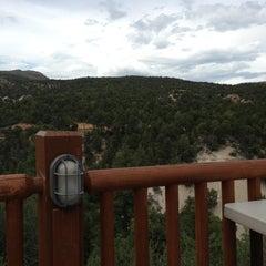 Photo taken at Zion Ponderosa Ranch Resort by Erin B. on 7/15/2013