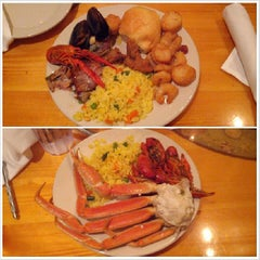 Photo taken at Captain George's Seafood Buffet by Sean A. on 5/5/2013