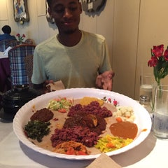 Photo taken at Meaza Restaurant & Market by Collin C. on 7/25/2015