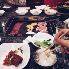 Photo taken at Cho Sun Gal Bi Korean BBQ & Sushi Bar by Jean N. on 7/29/2015