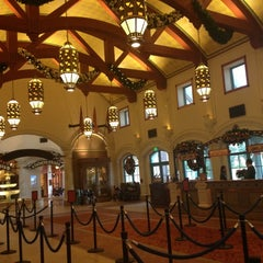 Photo taken at Disney's Coronado Springs Resort and Convention Center by Rosie C. on 12/12/2012