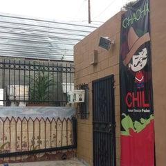 Photo taken at Cha Cha Chili by Chris E. on 5/22/2014