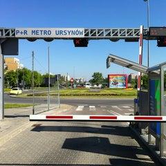 Photo taken at Metro Ursynów by Pawel M. on 5/17/2013