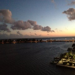 Photo taken at Brickell Place Marina by Dan A. on 12/1/2012