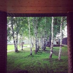 Photo taken at Усадьба by Carolina R. on 6/23/2014
