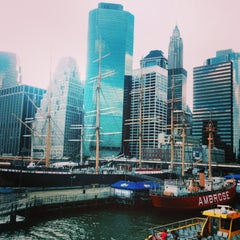 Photo taken at South Street Seaport by Ivan B. on 7/12/2013