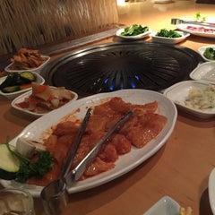 Photo taken at Wharo Korean BBQ by Billy U. on 3/28/2015