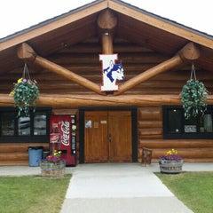 Photo taken at Iditarod Race Headquarters by Vicki G. on 7/1/2015