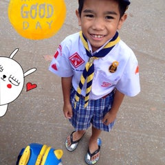 Photo taken at โรงเรียนแย้มสอาดรังสิต (Yamsaard Rangsit School) by moonbeammer on 2/11/2015