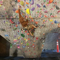 Photo taken at Red Rock Climbing Center by Nick G. on 10/30/2014