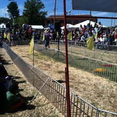Photo taken at Kansas State Fairgrounds by Jason R. on 9/14/2012