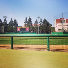 Photo taken at Dedeaux Field by Christian C. on 6/12/2013