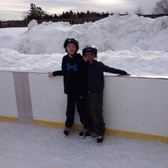 Photo taken at larz anderson skating rink by Bill D. on 2/23/2014