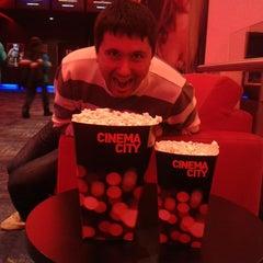 Photo taken at Cinema City by Iwona P. on 11/8/2014