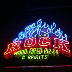 Photo taken at The Rock Wood Fired Kitchen by Mark G. on 11/17/2012