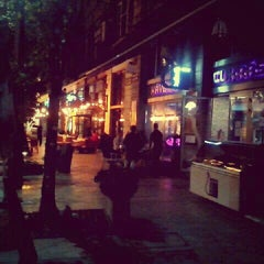 Photo taken at Lila Körte Cafe by Milán B. on 9/28/2012